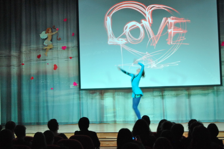 Концерт 14 февраля 2014 г. к Дню святого Валентина - фото 1